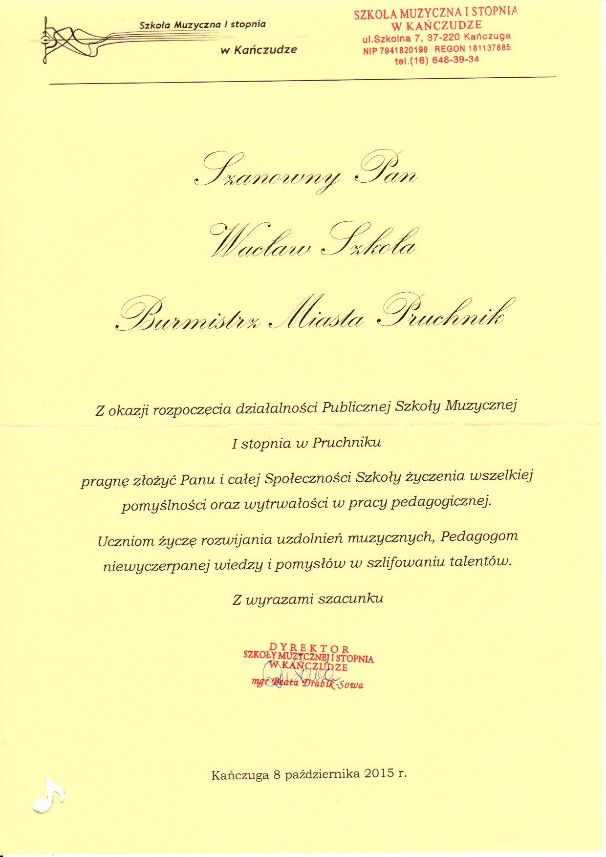 Gratulacje I życzenia Z Okazji Rozpoczęcia Działalności