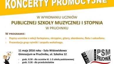 Koncert promocyjny 2016-05-11 Pruchnik