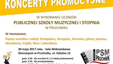 Koncert promocyjny 2017-05-30 Pruchnik