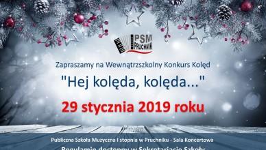 Konkurs kolęd - 2019