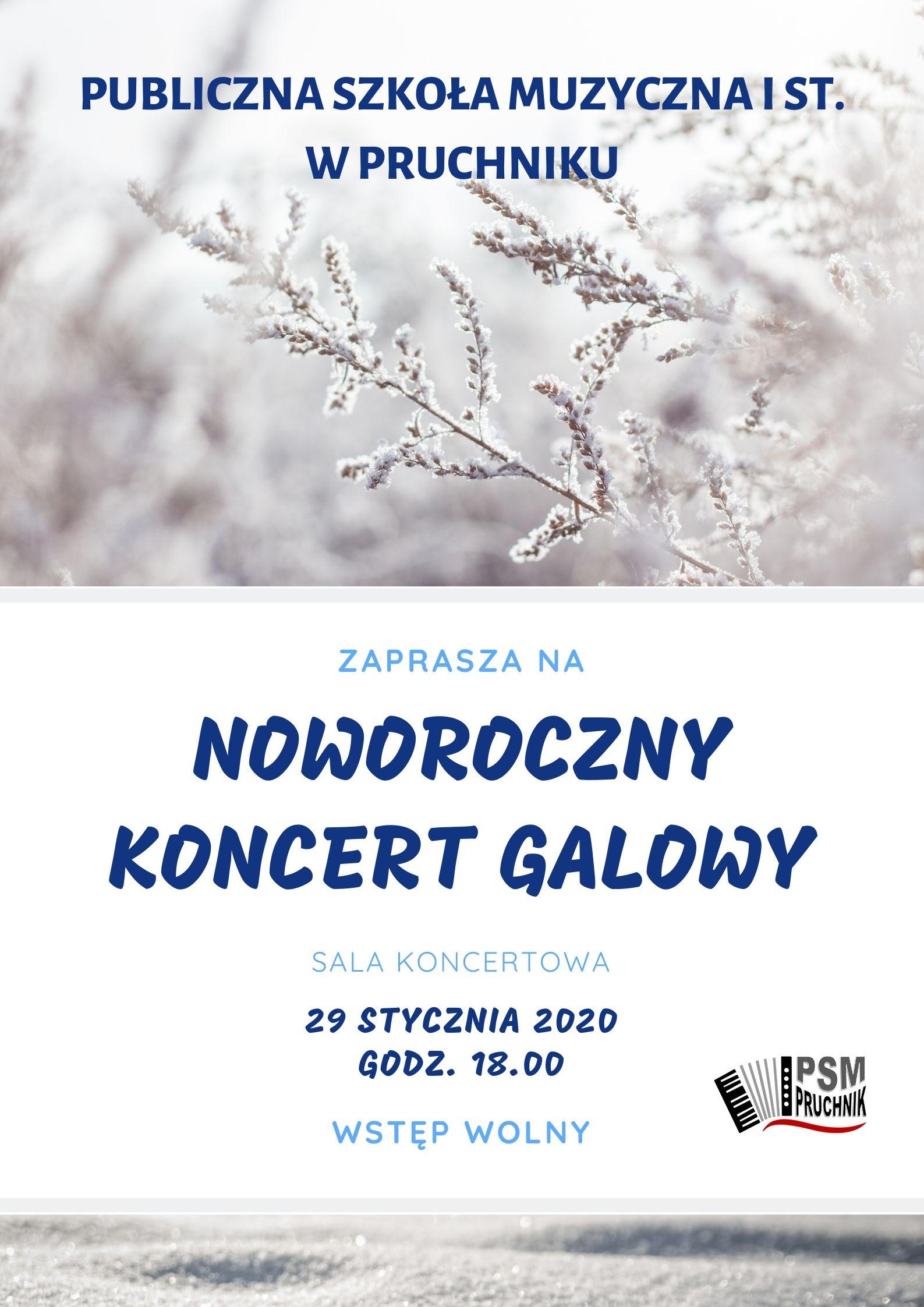 Koncert Noworoczny - Pruchnik 2020
