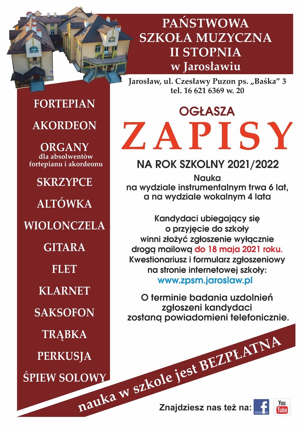 Jarosław - zapisy